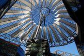 Berlin, Germany: Roof of SONY Center — Stock Photo