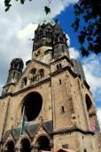 Berlin, Germany: Kaiser Wilhelm Memorial Church — Stock Photo