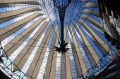Berling, Germany: SONY Center Roof — Stock Photo