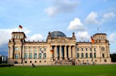 Berlin, Germany:  The Reichstag — Stock Photo