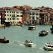 Venice, Italy: Boats on Grand Canal — Stock Photo #52555153