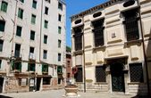 Venice, Italy: Synagogue in the Old Jewish Ghetto — Stock Photo