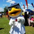 Queens, NYC: Cyclones Duck Mascot — Stock Photo #52921483