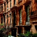 Brooklyn Heights, NY: Row of Brick Brownstones — Stock Photo #52921635