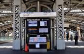 NYC: LIRR Train Terminal — Stock Photo
