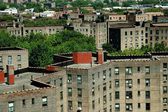 NYC: Public Housing Project in Queens — Stock Photo