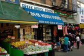 NYC: Food Shops in Astoria, Queens — Stock Photo