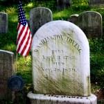 Sleepy Hollow, NY: Washington Irving Gravestone — Stock Photo #53257489