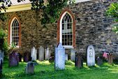Sleepy Hollow, NY:  1685 Old Dutch Church — Stockfoto