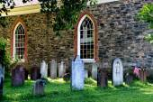 Sleepy Hollow, NY:  1685 Old Dutch Church — 图库照片