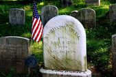 Sleepy Hollow, NY: Washington Irving Gravestone — Stock Photo