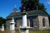 Sleepy Hollow, NY:  1685 Old Dutch Church — Zdjęcie stockowe