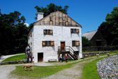 Sleepy Hollow, NY: C. 1750 Philipsburg Manor House — Stock Photo