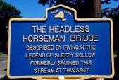 Sleepy Hollow, NY: State Historic Sign — Stock Photo