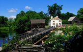 Sleepy Hollow, NY: C. 1750 Philipsburg Manor — Stock Photo