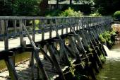 Sleepy Hollow, NY: Mill Pond Bridge — Zdjęcie stockowe