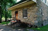 Sleepy Hollow, NY: Philipsburg Manor Interpretive Center — Stock Photo