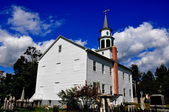 Spencertown, NY: 1771 St. Peter's Church — 图库照片