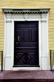 Wethersfield, CT: Doorway of 1776 Silas Deane House — Stock Photo