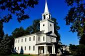 Washington, CT:  1771 First Congregational Church — Stock Photo