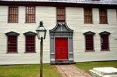 Deerfield, ma: 1730 dwight evi — Stok fotoğraf