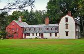 Deerfield, MA: 1730 Dwight House — Stock Photo