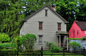 Stockbridge, MA: 1742 Mission House — Stock Photo
