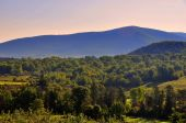 Williamstown, MA: Farmlands in the Berkshire Hills — Stock Photo