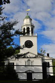 Lenox, MA: 1805 Church on the Hill — Stock Photo