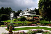 Lenox, MA:  The Mount and Formal Gardens — Stock Photo