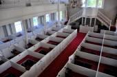 Bennington, VT: 1806 First Congregational Church Interior — Stock Photo