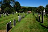 Rockingham, VT: Meeting House Burial Ground — Stock Photo