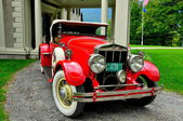 Manchester Village, VT: Franklin Roadster Car — Foto Stock