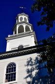 Bennington, VT: 1806 First Congregational Church — Stock Photo
