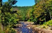 Rock-strewn River near Grafton, Vermont — Stock Photo