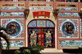 Kanchanaburi, Thailand: Qing Shou Si Chinese Temple — Stockfoto