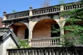 Kanchanaburi, Thailand: Home on Heritage Walk — Stock Photo