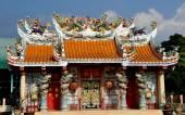 Kanchanaburi, Thailand: Kwan de Miao Chinese Temple — Foto Stock