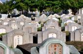 Kanchanaburi, Thailand:  Chinese Cemetery — Zdjęcie stockowe