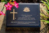 Kanchanaburi,Thailand: WWII Soldiers' Grave — Stock Photo