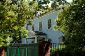 NYC: 1789 Blackwell House on Roosevelt Island — Stock Photo