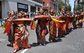NYC: Philippines Independence Day Parade Marchers — Stock fotografie