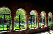 Нью-Йорк: Cuxa монастырь в Музей Клойстерс — Стоковое фото
