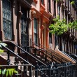 Постер, плакат: NYC: Harlem Brownstones