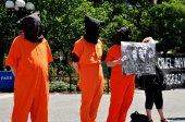 NYC:  Amnesty International Demonstration — Stock Photo