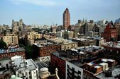 NYC:  Upper West Side Skyline and Rooftops — Stock Photo