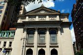 NYC: The Portuguese Synagogue — Stockfoto