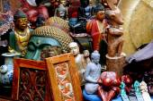 NYC: Asian Art Treasures at Street Festival — Stock Photo