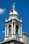 NYC: Cupola atop 1811 New York City Hall — Stock Photo