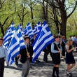 NYC: Children Marching in Greek Independence Day Parade — Stock Photo #58067217